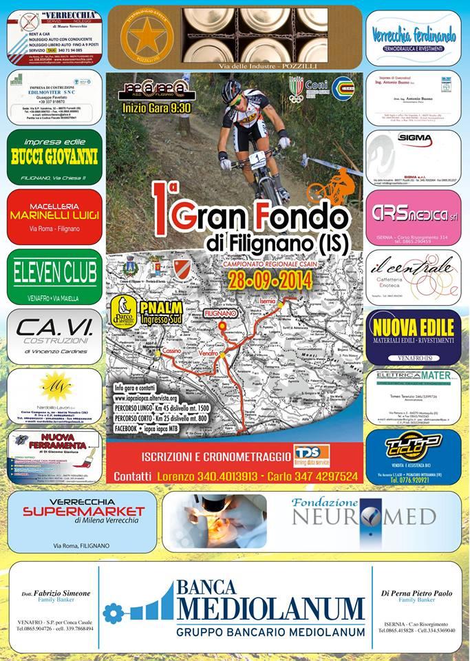 Locandina GF Filignano 2014