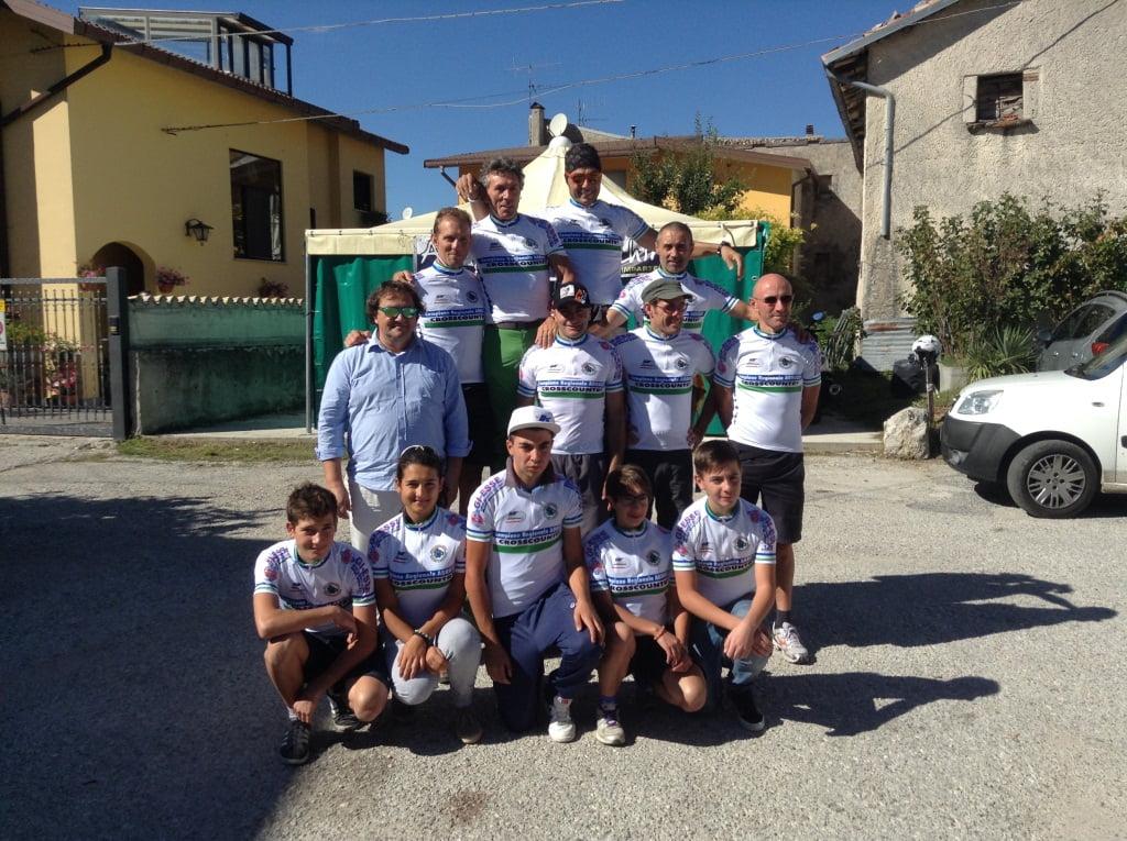 Campioni FCI Abruzzo cross country 2014 Rampiraio