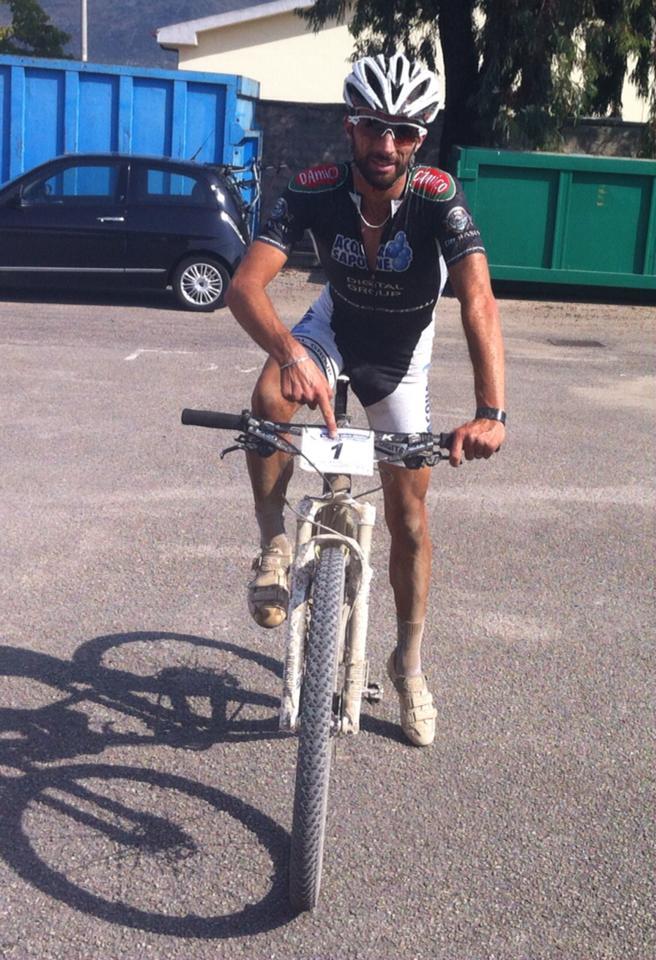 GF Lago di Fondi 2014 il vincitore marathon Stefano Capponi