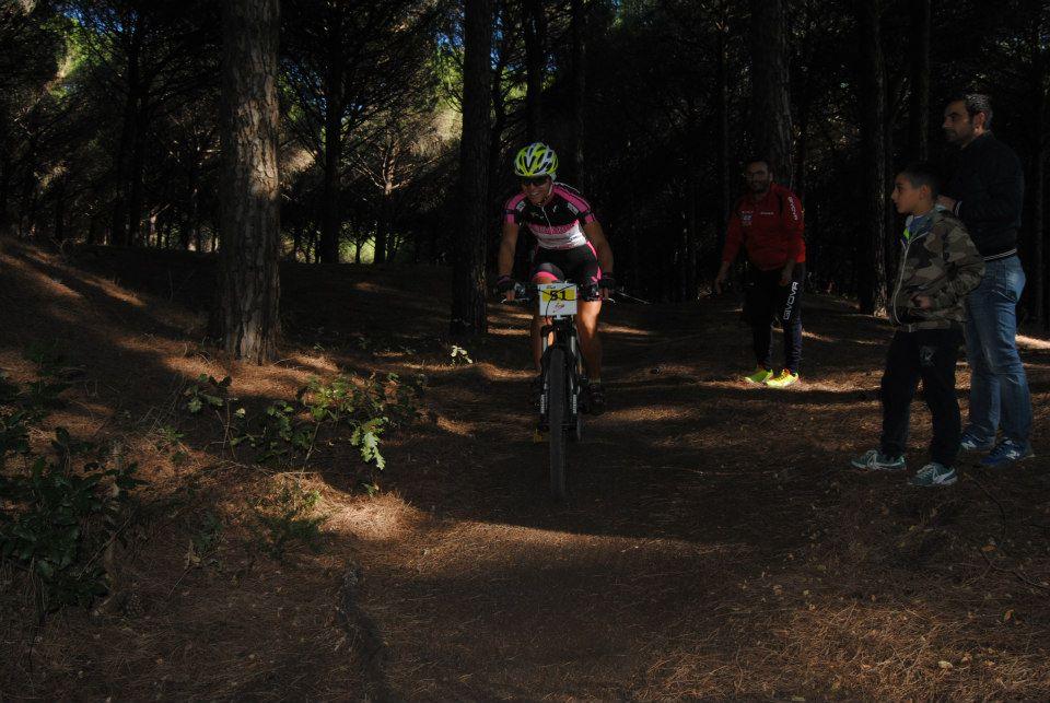 Trofeo Mtb Terra di Fuoco 2014 Rossella Diezzo in azione