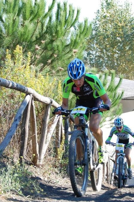 Trofeo Mtb Terra di Fuoco 2014 Russo e Terranova in azione
