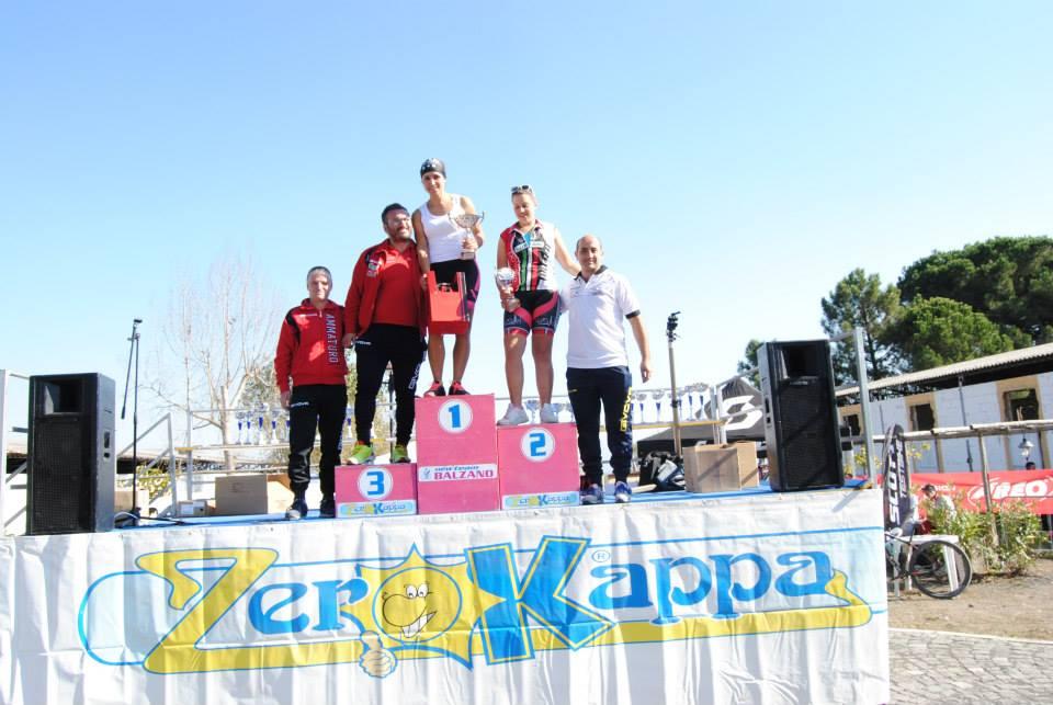 Trofeo Mtb Terra di Fuoco 2014 podio femminile