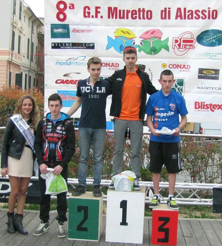 Alassio podio Junior