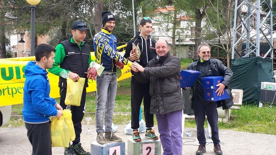 Il podio dei vincitori trofeo Accademia della ventricina (2)