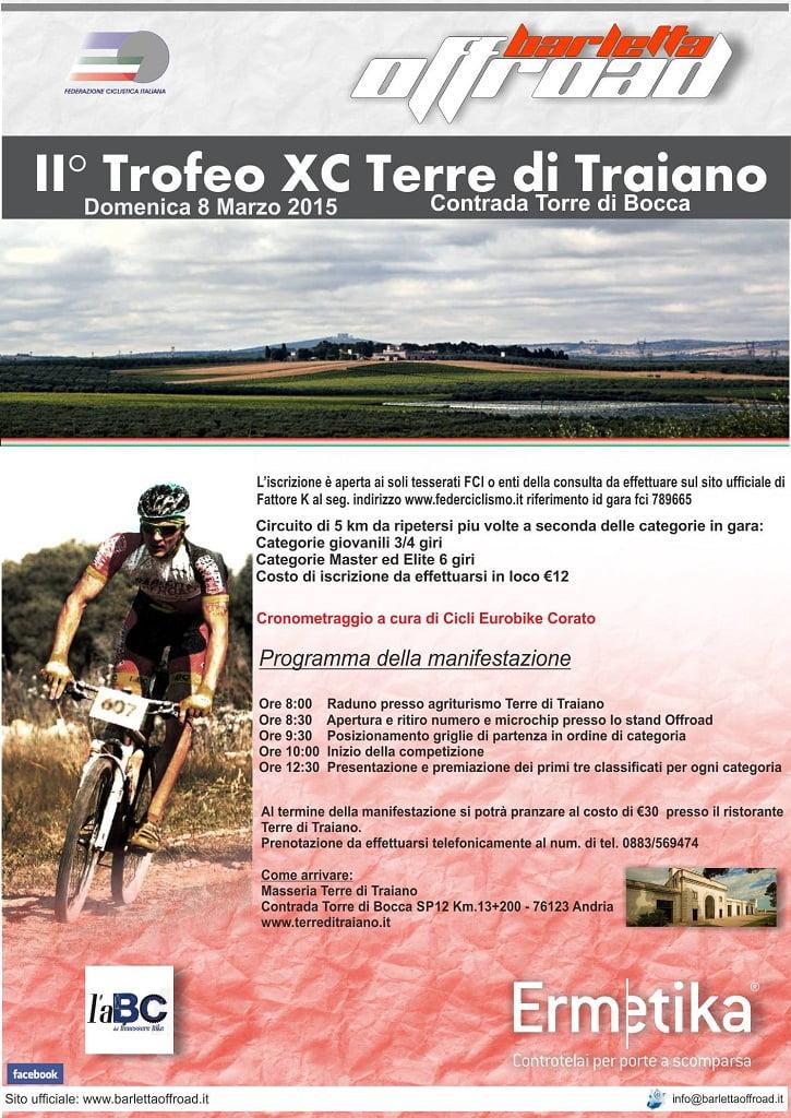 Locandina GP Terre di Traiano 2015