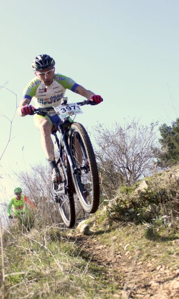 Marathon Castel Del Monte il vincitore Buono in azione