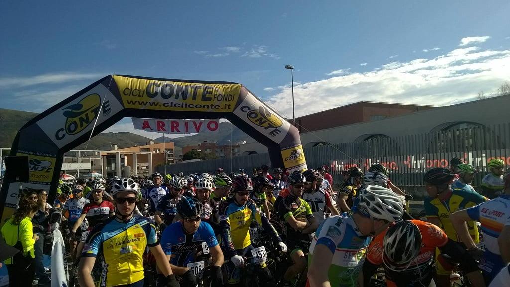 Marathon dei Monti Aurunci 2015 la partenza