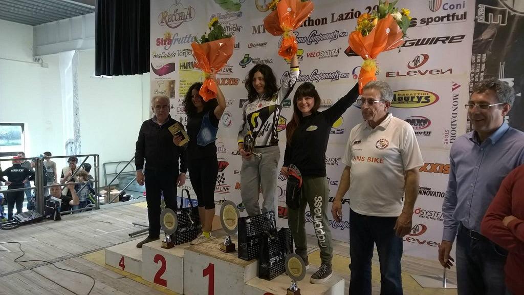 Marathon dei Monti Aurunci 2015 podio femminile