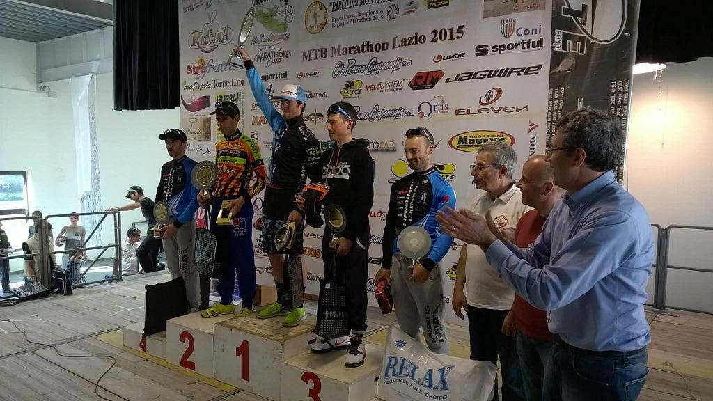 Marathon dei Monti Aurunci 2015 podio mht