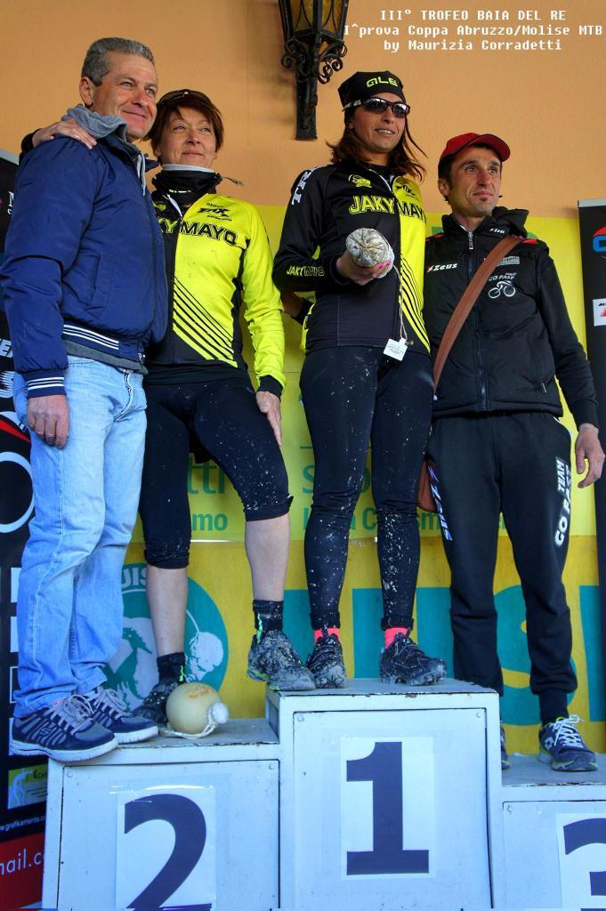 Trofeo Baia del Re 2015 podio femminile