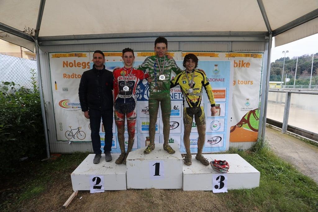 podio allievi secondo anno
