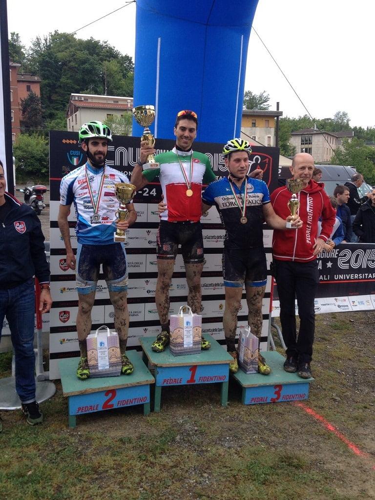 Cina Campione Italiano MTB Universitari 2015