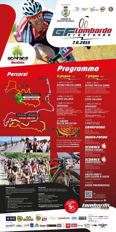 Locandina Marathon Scorace Lombardo 2015