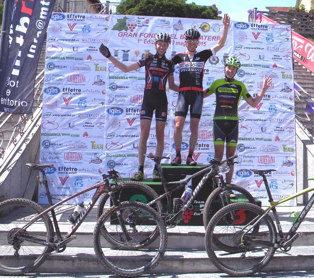 podio assoluto Gf Bramaterra- Costabello 2°