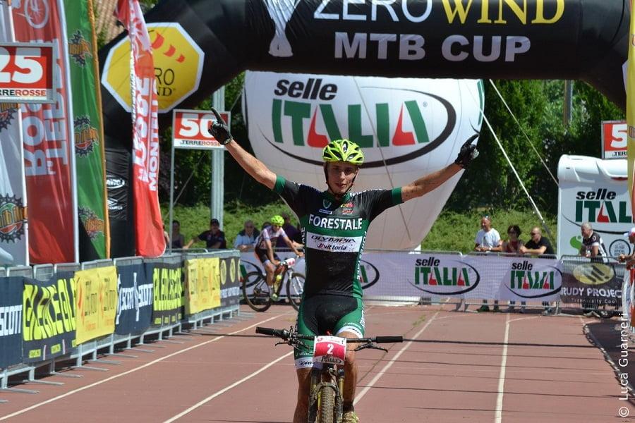 Il vincitore Luca Braidot