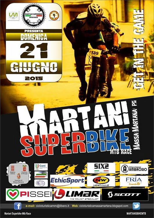 Locandina Martani Superbike 2015