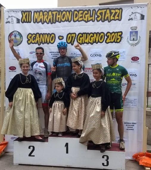 Marathon degli Stazzi 2015 podio