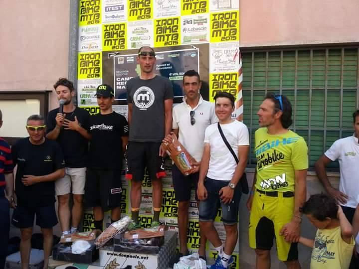 Calanchi Bike 2015 podio marathon con Pozzovivo