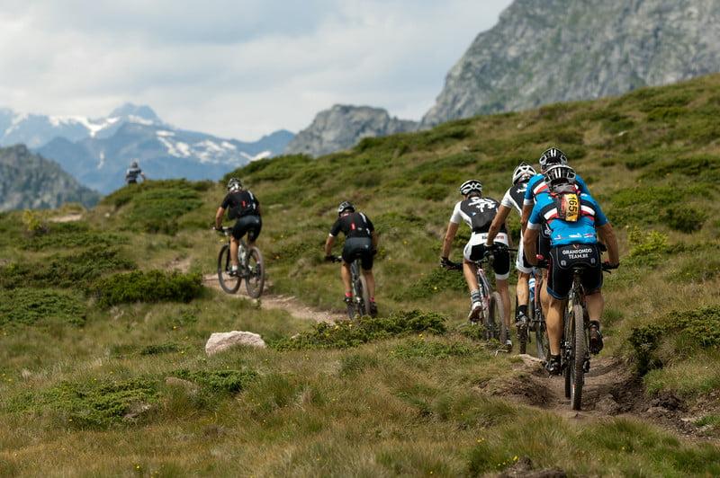 """Course Craft BIKE Transalp powered by Sigma 2014, Stage 4 Naturns-Sarnthein, 73.79 km, 2,645 metres of altitude - (c) Robert Niedrig"""