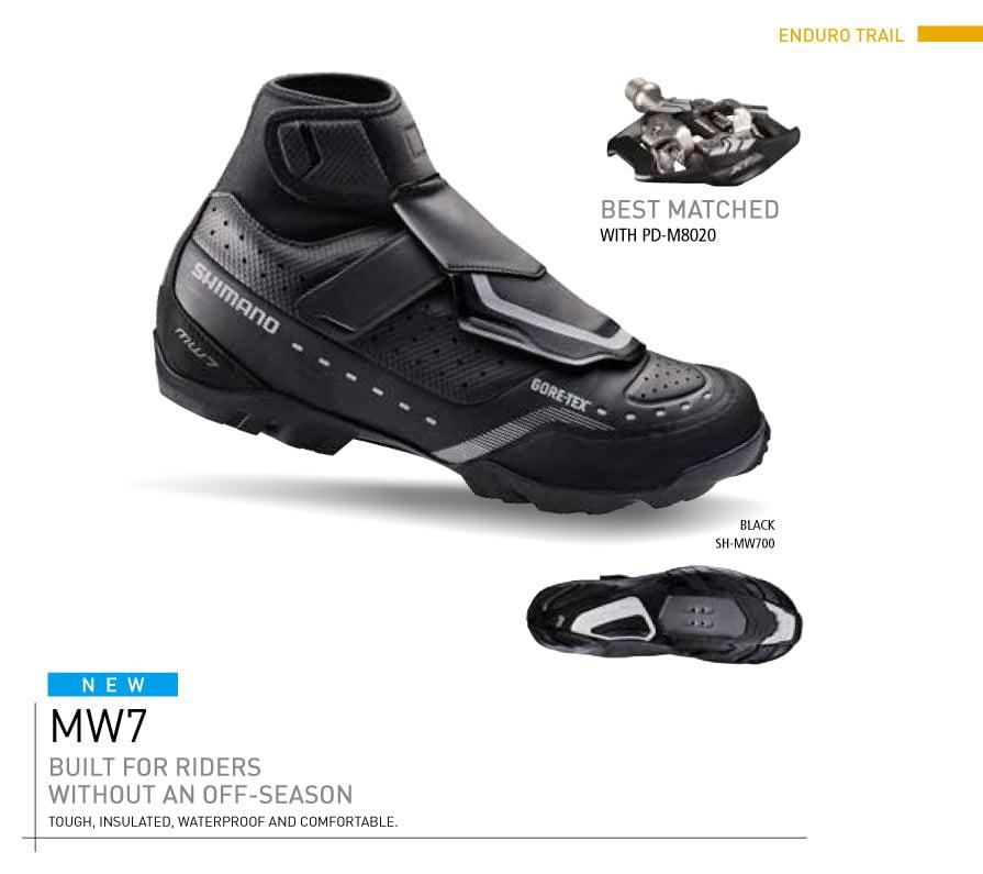 Shimano MW7 2016 shoe
