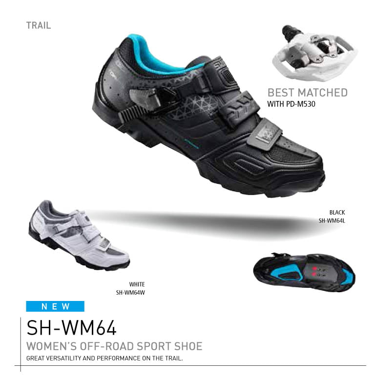 Shimano WM64 women's MTB shoe