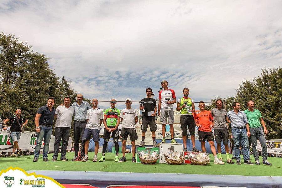 Marathon Bosco di Bitonto 2015 podio