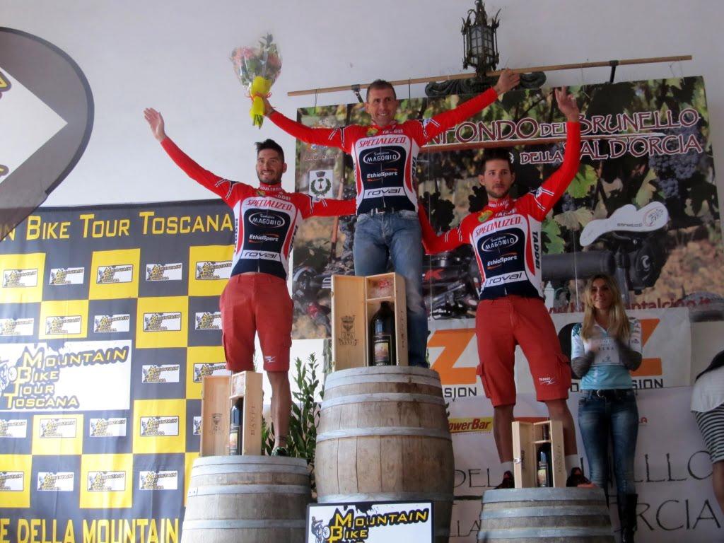 podio premiazioni