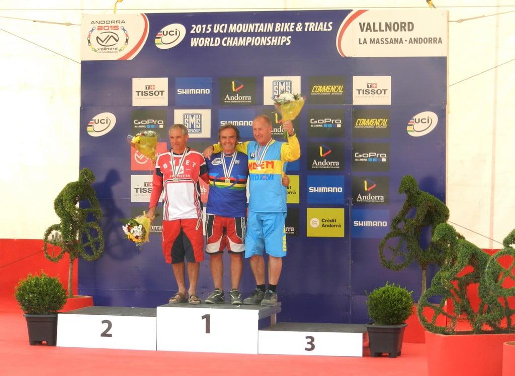 Andorra podio