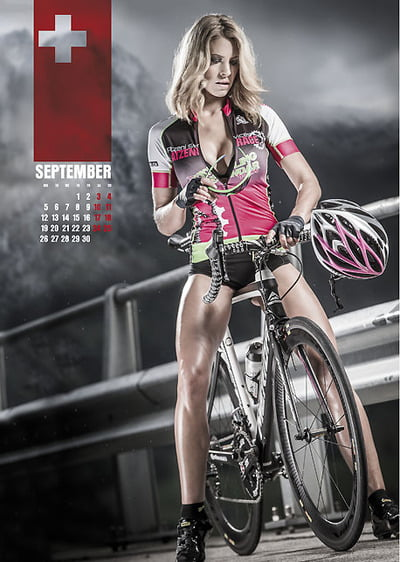 pronto il calendario sexy cycling 2016 mtb. Black Bedroom Furniture Sets. Home Design Ideas