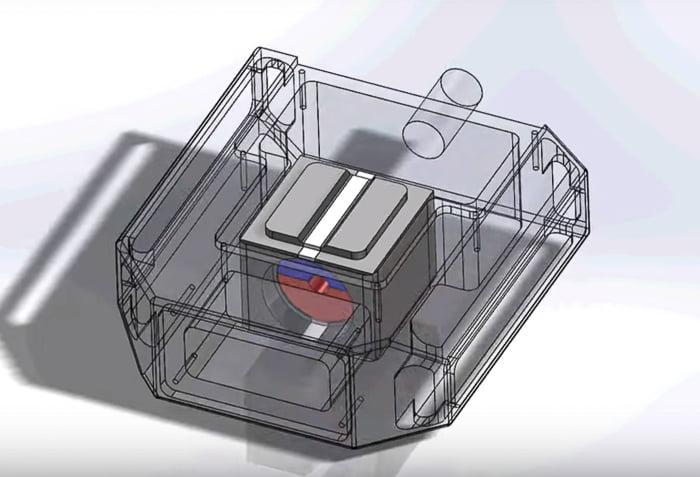 Ferro-magnetic-pedal