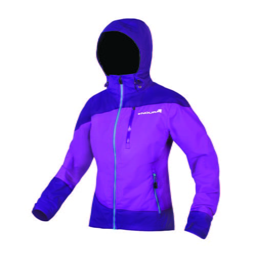 E9084PU Wms Singletrack Jacket Purple