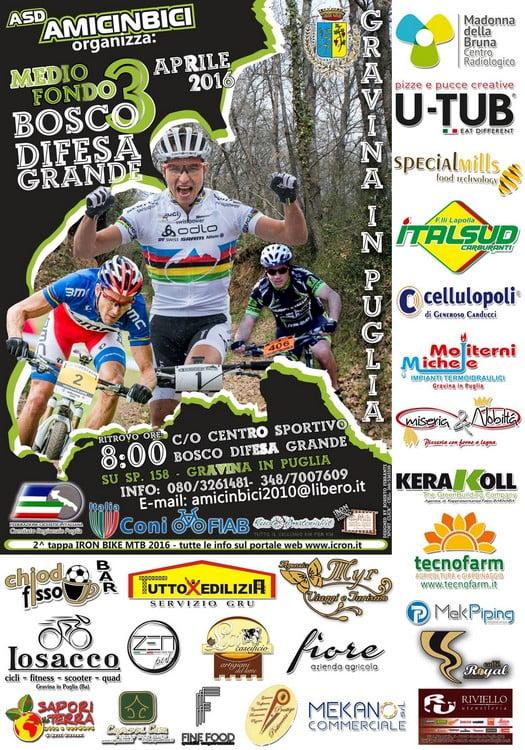 Locandina Bosco Difesa Grande 2016