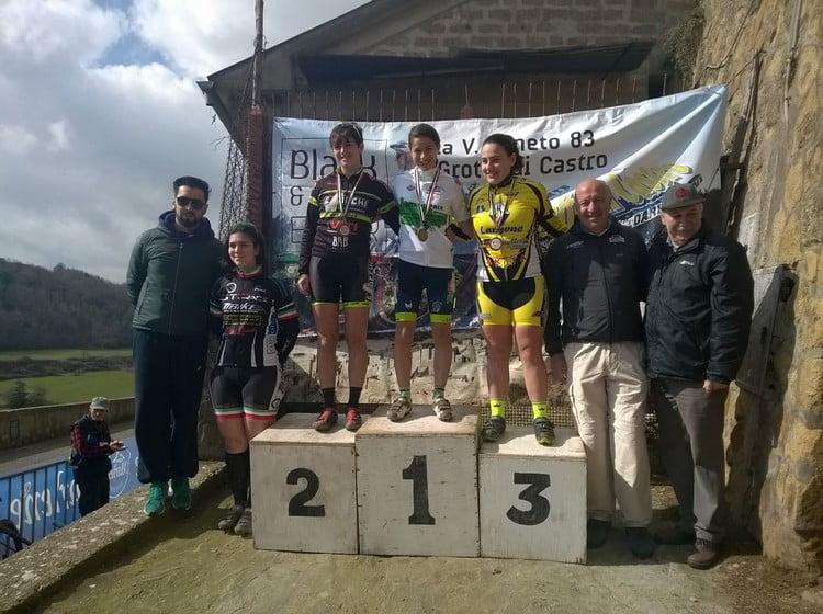 Memorial Zannoni-Bordo 2016 podio allieve donne 2anno