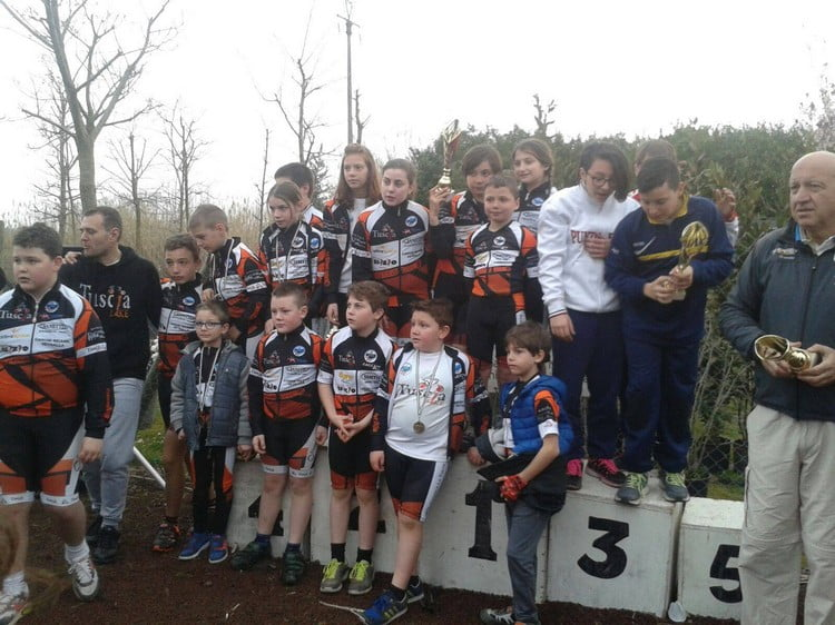 Memorial Zannoni-Bordo 2016 premiazione Tuscia Bike