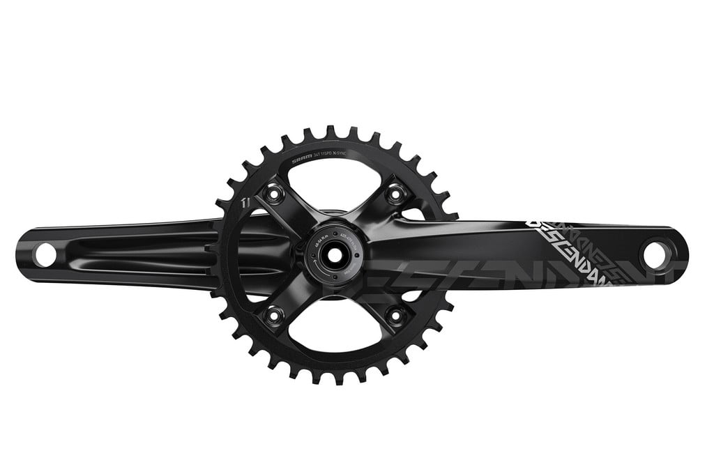 TRUVATIV_Descendant_DH_Crank_170mm_30mm_34t_Black_Front_M