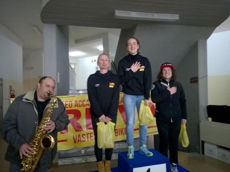 Trofeo Accademia della Ventricina 2016 podio femminile