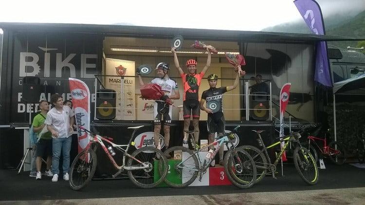 GF Monte Cucco 2016 podio granfondo