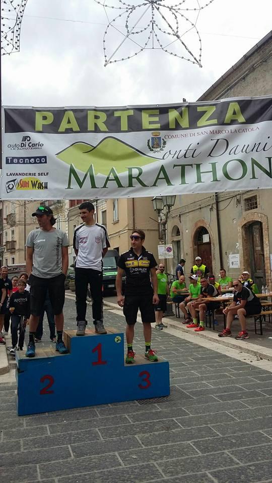 Monti Dauni Marathon 2016 podio