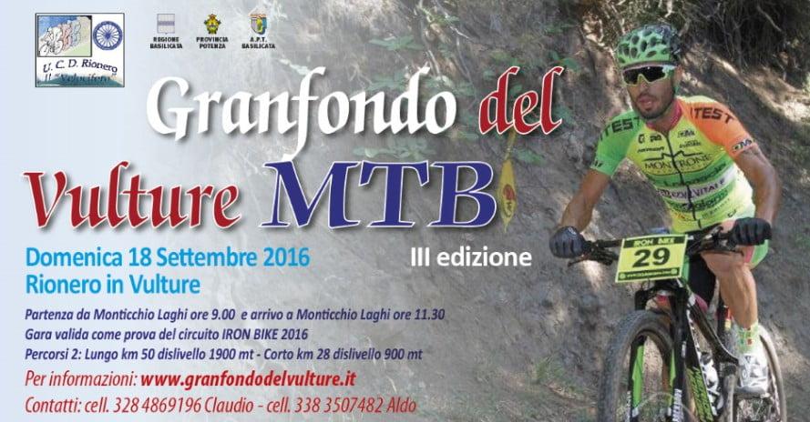 Locandina Marathon del Vulture 31072016