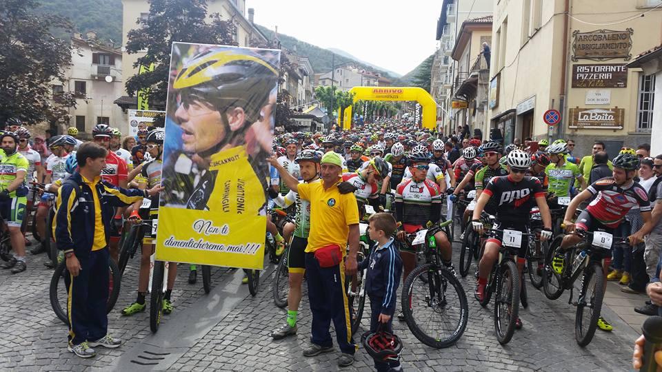 Marathon degli Stazzi 2016 partenza e omaggio a Cesidio