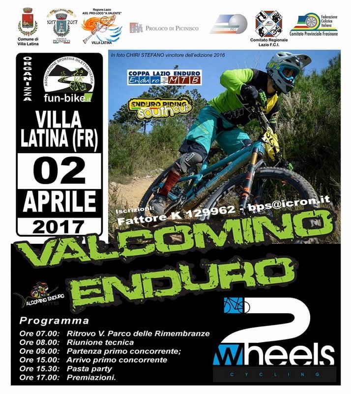 Valcomino Enduro Mtb 02042017 locandina