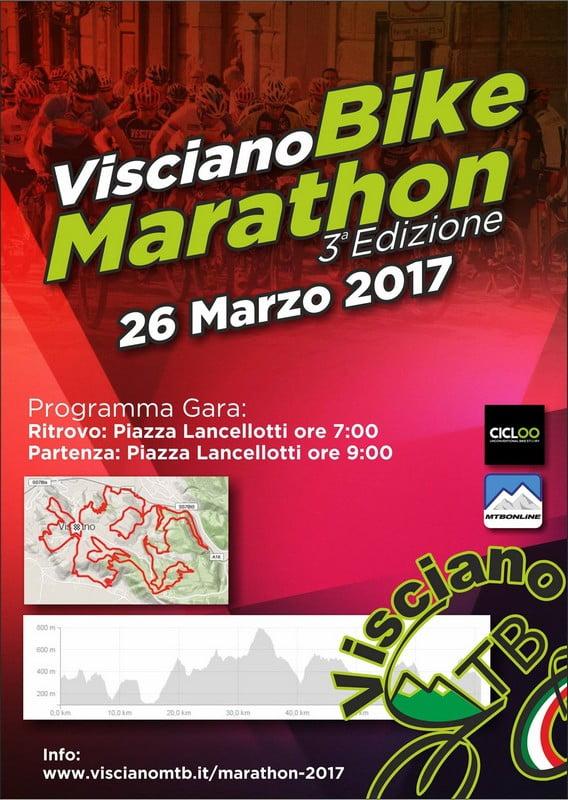 Visciano Bike Marathon 26mar2017 locandina