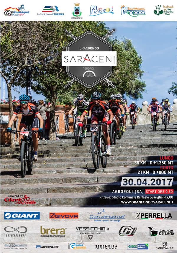Granfondo dei Saraceni 30042017 locandina