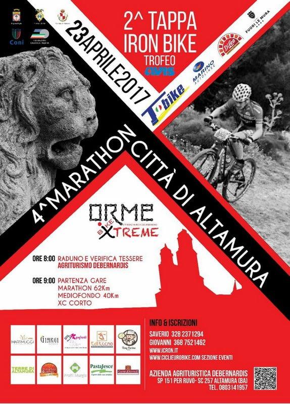 Marathon Città di Altamura 230402017 locandina