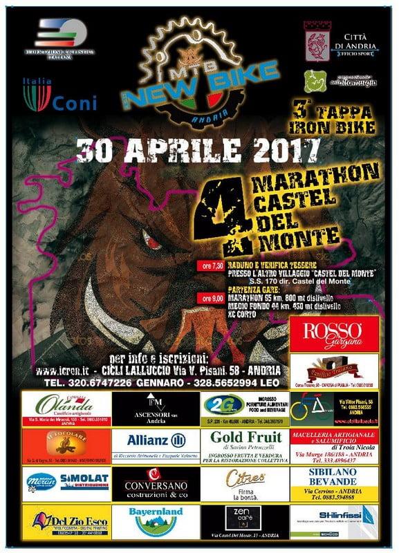 Marathon Mtb Castel del Monte 30042017 locandina