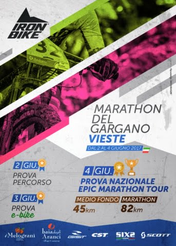 Marathon del Gargano 04062017 locandina