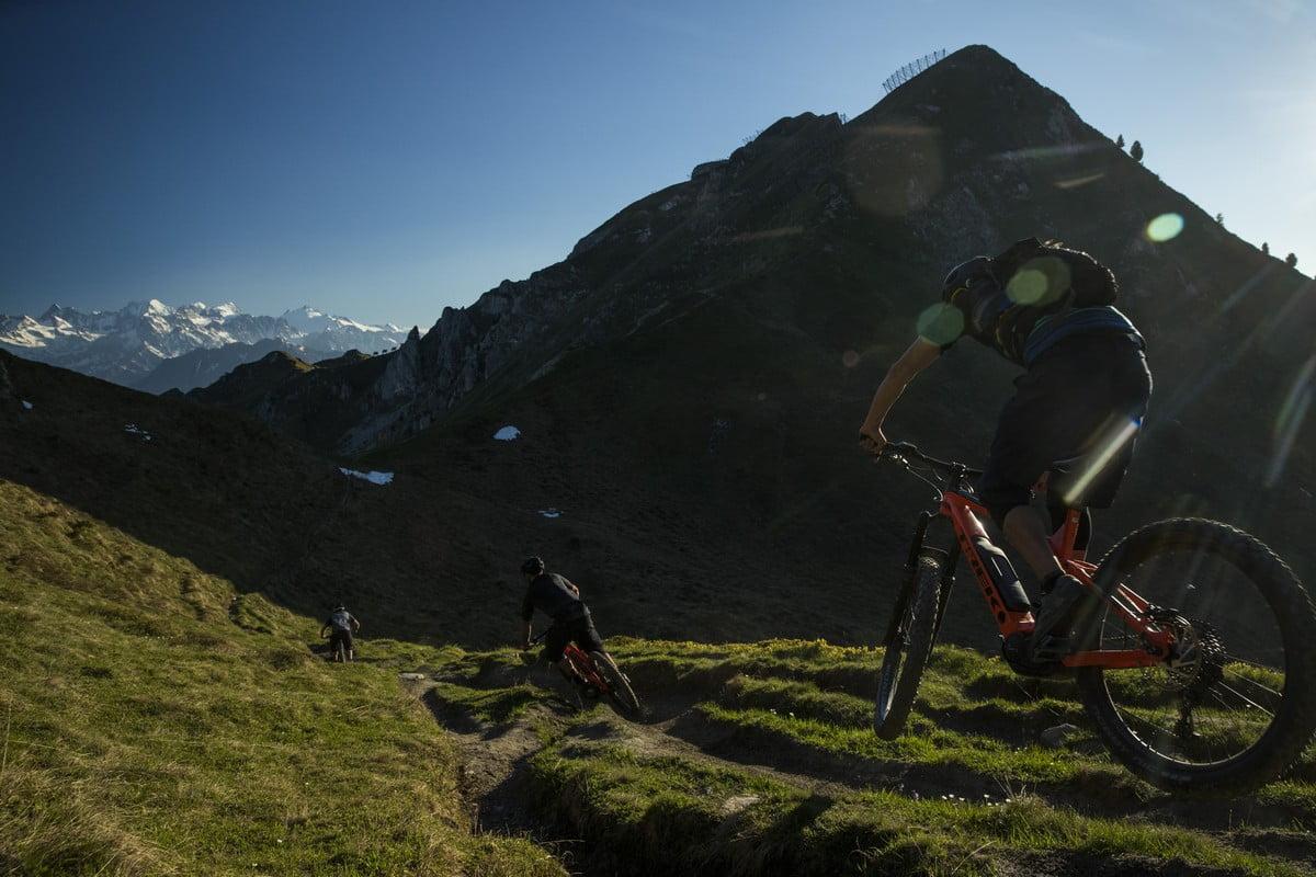 Trek Powerfly Launch in Verbier, Switzerland