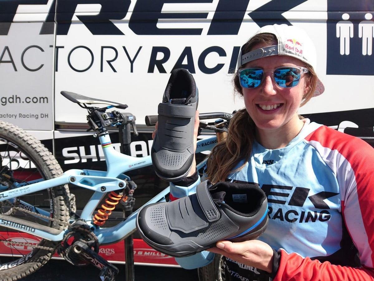 5796bcf59af32 Shimano lancia nuove scarpe e pedali per gravity all mountain
