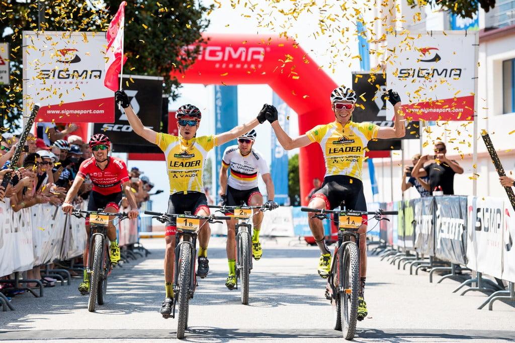 7. Etappe, Finish Riva del Garda, Miha Matavz