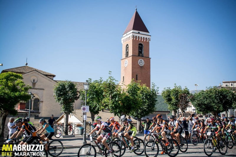 AmAbruzzo Bike Marathon 06082017 partenza